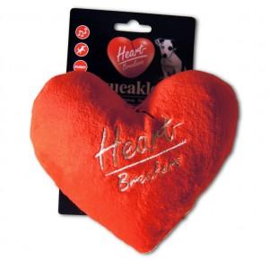Heartbreakers Squeakley  Plüsch-Herz mit Quietsche